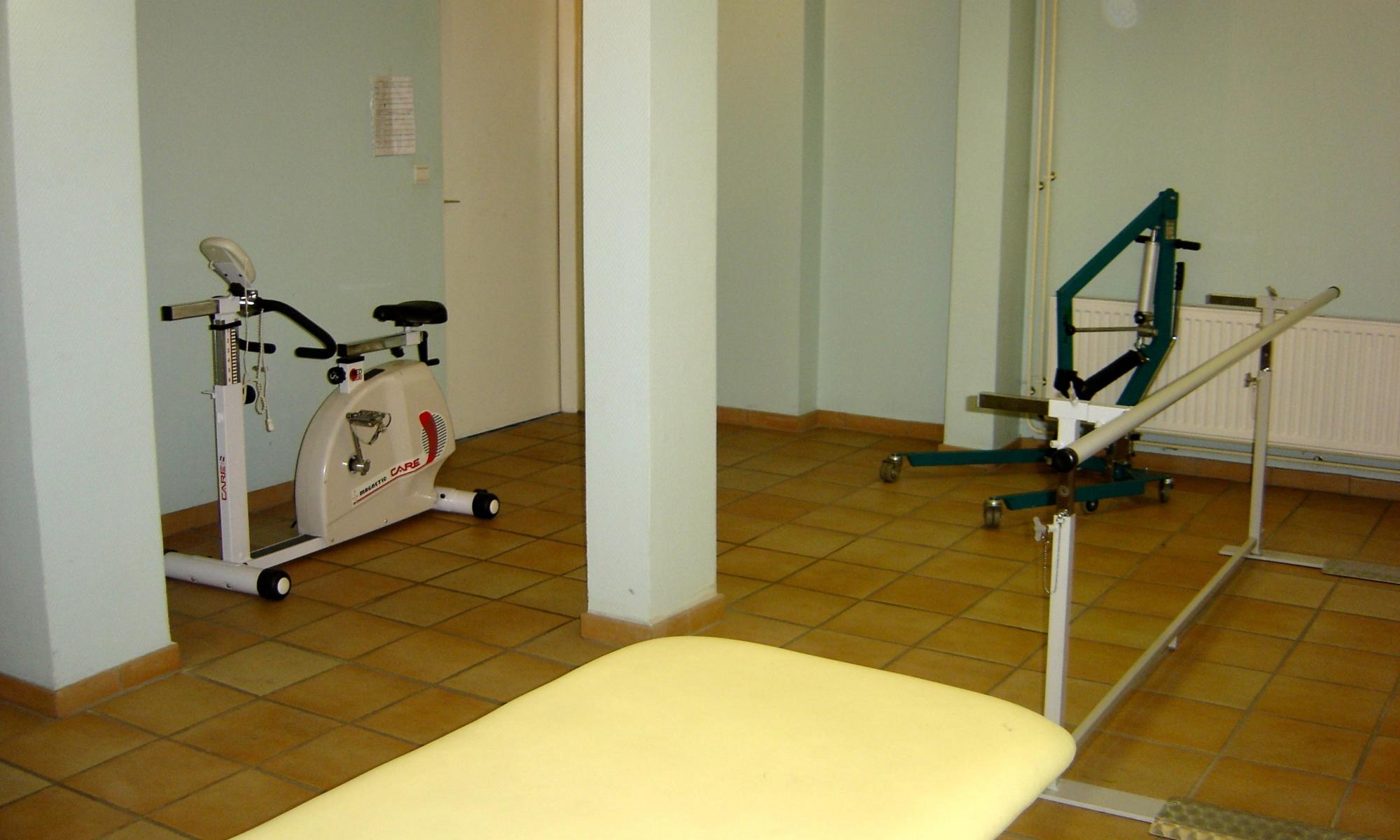 Salle de kinésithérapie